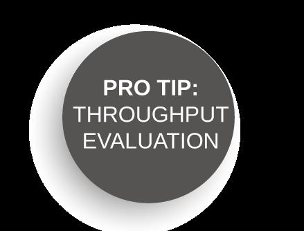 Pro-Tip: Throughput Evaluation