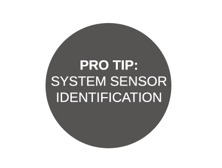 Pro-Tip: System Sensor Identification