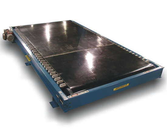 Belt-Over-Roller Conveyor