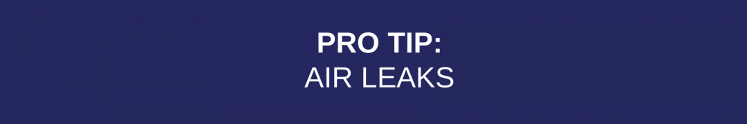 Air Leaks