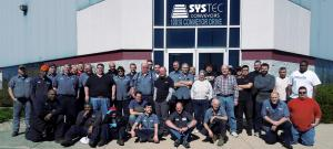 Systec Conveyors Group Photo Spring Cleaning 2017